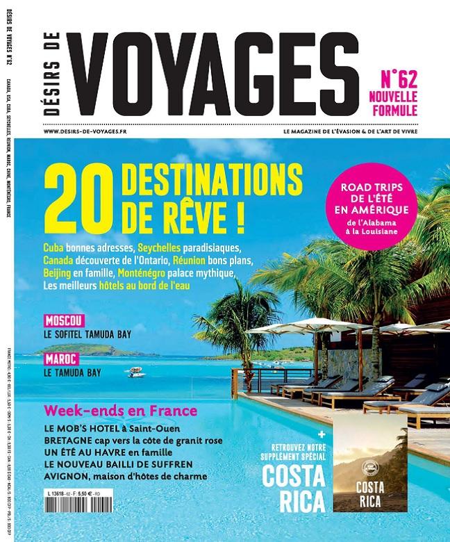 Désirs De Voyages N°62 - Septembre 2017