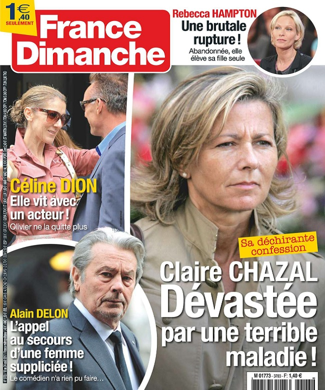 France Dimanche N°3703 Du 18 au 24 Août 2017