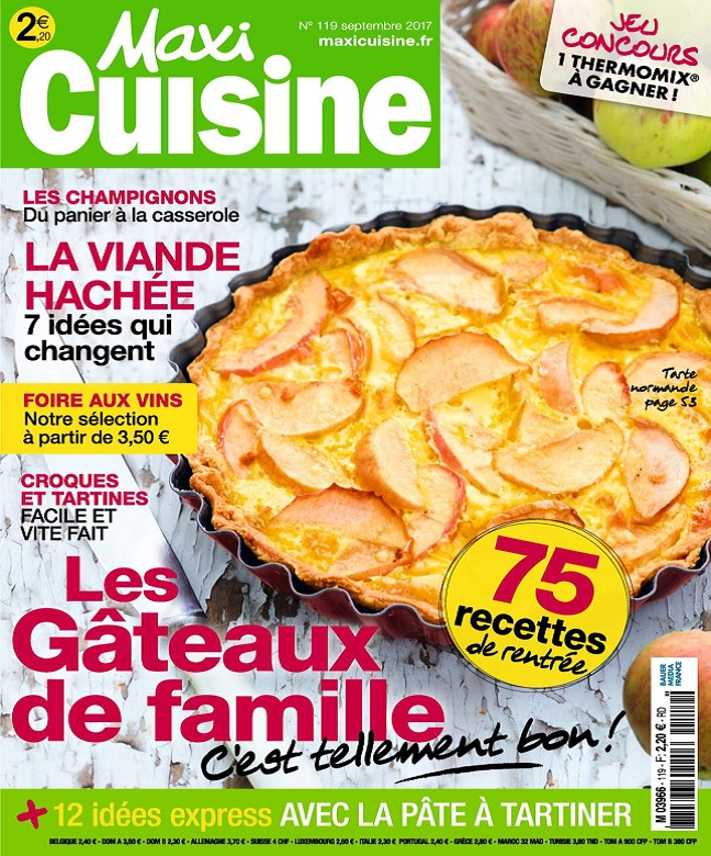 Maxi Cuisine N°119 - Septembre 2017