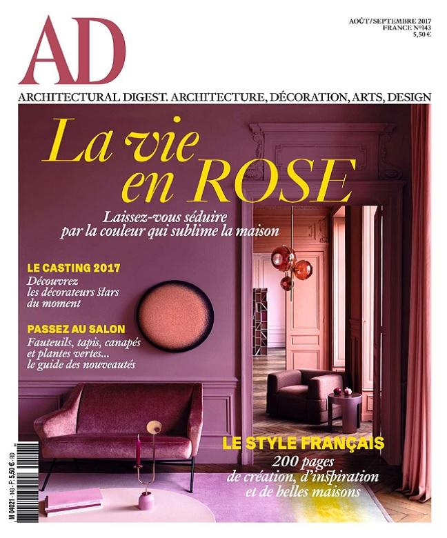 AD Architectural Digest N°143 - Août-Septembre 2017